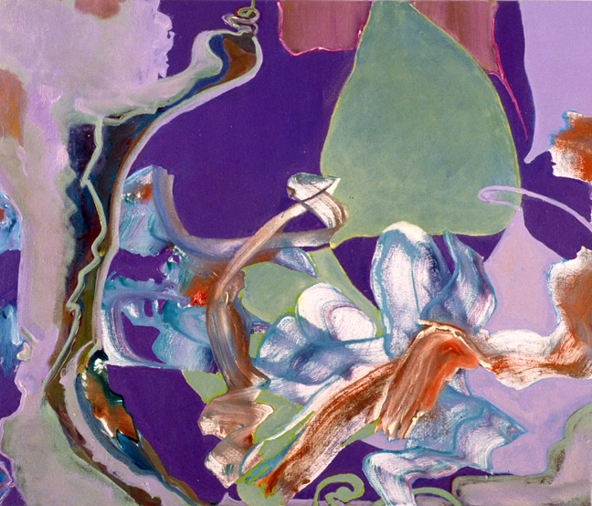 Barbara Coleman Paintings: Newworks (Emerald Light)